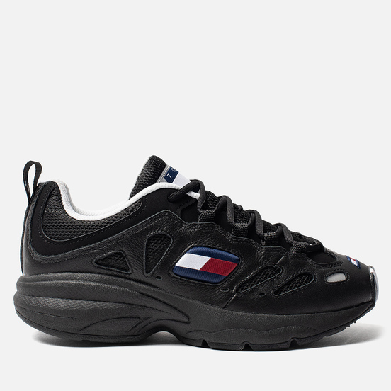 Женские кроссовки Tommy Jeans Retro Trainers Black