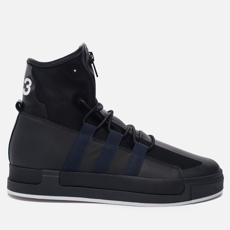 Женские кроссовки Y-3 Atta Core Black/Black Iris/White