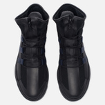 Женские кроссовки Y-3 Atta Core Black/Black Iris/White фото- 4