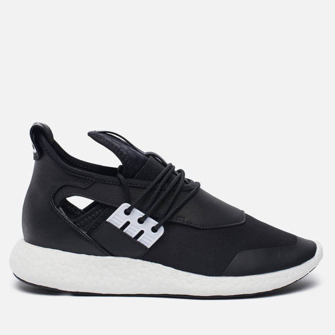 Женские кроссовки Y-3 Elle Run Core Black/Core Black/White