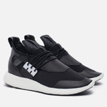 Женские кроссовки Y-3 Elle Run Core Black/Core Black/White фото- 1