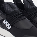 Женские кроссовки Y-3 Elle Run Core Black/Core Black/White фото- 5