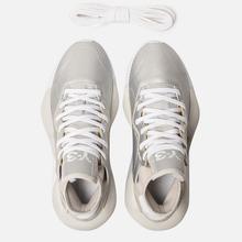 Женские кроссовки Y-3 Kaiwa Silver Metallic/White/Silver Metallic фото- 1