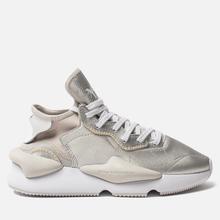 Женские кроссовки Y-3 Kaiwa Silver Metallic/White/Silver Metallic фото- 3