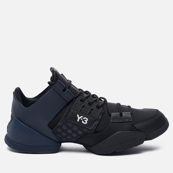 Женские кроссовки Y-3 Kanja Core Black/Black Iris/White
