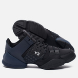Женские кроссовки Y-3 Kanja Core Black/Black Iris/White фото- 2