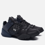 Женские кроссовки Y-3 Kanja Core Black/Black Iris/White фото- 1