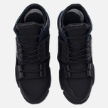 Женские кроссовки Y-3 Kanja Core Black/Black Iris/White фото- 4
