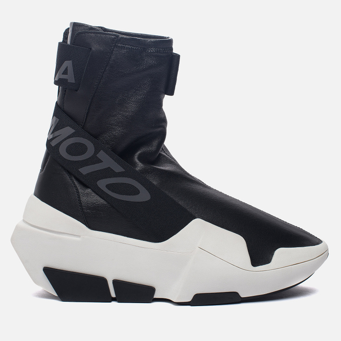 Женские кроссовки Y-3 Mira Boot Core Black/Core Black/White