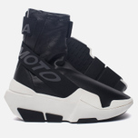 Женские кроссовки Y-3 Mira Boot Core Black/Core Black/White фото- 1