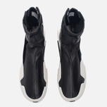 Женские кроссовки Y-3 Mira Boot Core Black/Core Black/White фото- 4