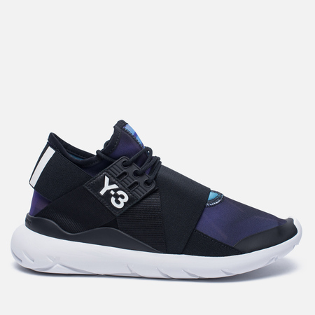 Женские кроссовки Y-3 Qasa Elle Lace Continuum Print/Core Black/White