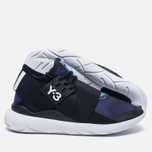 Женские кроссовки Y-3 Qasa Elle Lace Continuum Print/Core Black/White фото- 1