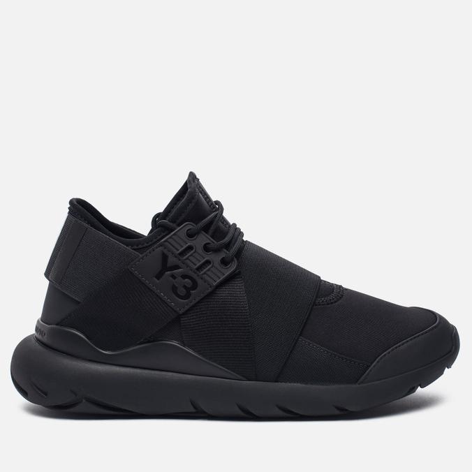 Женские кроссовки Y-3 Qasa Elle Lace Core Black/Utility Black/Core Black