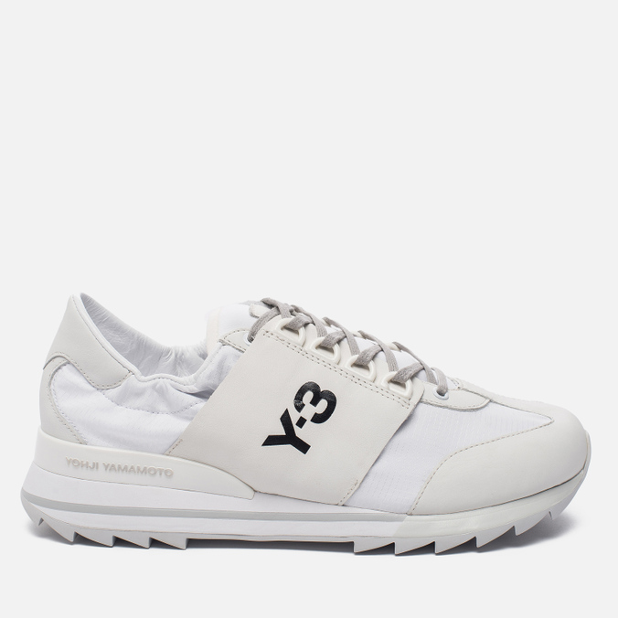 Женские кроссовки Y-3 Rhita Sport Crystal White/Crystal White/Light Solid Grey