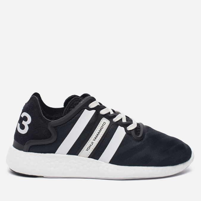 Женские кроссовки Y-3 Yohji Run Core Black/White/Core Black