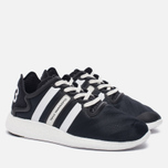 Женские кроссовки Y-3 Yohji Run Core Black/White/Core Black фото- 1