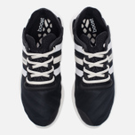 Женские кроссовки Y-3 Yohji Run Core Black/White/Core Black фото- 4