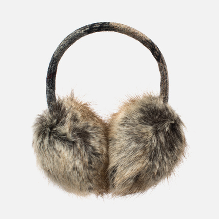 Barbour Carsten Women's fur headphones Fur Natural