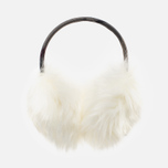 Barbour Carsten Women's fur headphones Winter White photo- 0