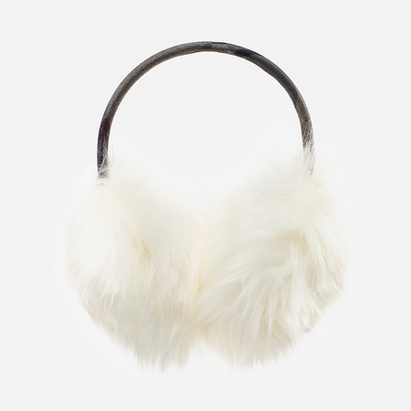 Barbour Carsten Women's fur headphones Winter White