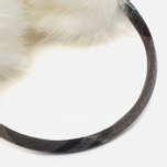 Barbour Carsten Women's fur headphones Winter White photo- 1