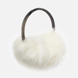 Barbour Carsten Women's fur headphones Winter White photo- 2