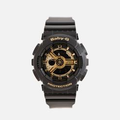 Наручные часы CASIO Baby-G BA-110-1A Black/Gold