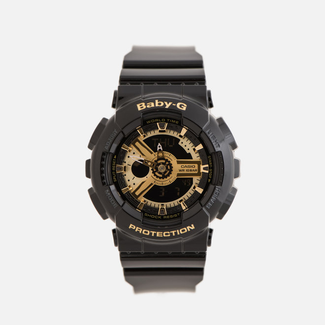 Наручные часы CASIO Baby-G BA-110-1A Black/Gold