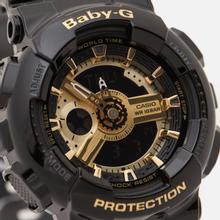 Наручные часы CASIO Baby-G BA-110-1A Black/Gold фото- 2
