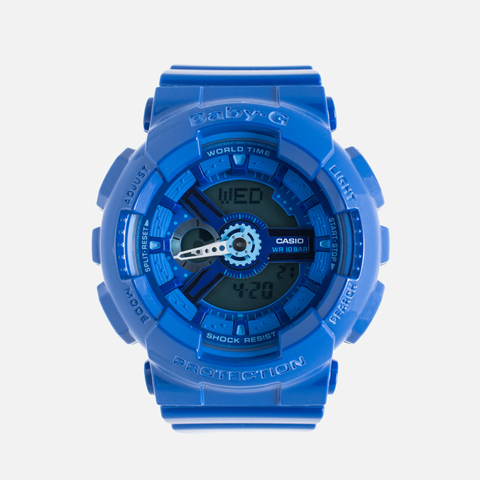 Женские наручные часы Casio Baby-G BA-110BC-2A Blue