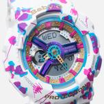 Женские наручные часы CASIO Baby-G BA-110FL-7A Flower Leopard White фото- 2