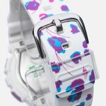 Женские наручные часы CASIO Baby-G BA-110FL-7A Flower Leopard White фото- 3
