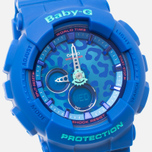 Женские наручные часы CASIO Baby-G BA-120LP-2A Leopard Pattern Blue фото- 2