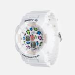 Женские наручные часы Casio Baby-G BA-120LP-7A1 Leopard Pattern White фото- 1