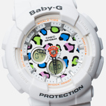 Женские наручные часы CASIO Baby-G BA-120LP-7A1 Leopard Pattern White фото- 2