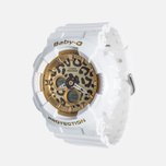Casio Baby-G BA-120LP-7A2 Leopard Women's Watch Pattern White/Gold photo- 1