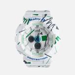 Женские наручные часы Casio Baby-G BA-120SC-7A Graffiti Pattern White фото- 0