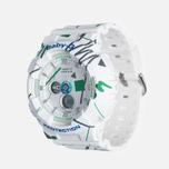 Женские наручные часы Casio Baby-G BA-120SC-7A Graffiti Pattern White фото- 1