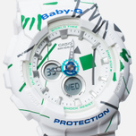 Женские наручные часы Casio Baby-G BA-120SC-7A Graffiti Pattern White фото- 2