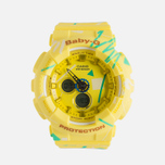 Женские наручные часы CASIO Baby-G BA-120SC-9A Graffiti Pattern Yellow фото- 0