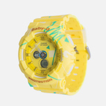 Женские наручные часы CASIO Baby-G BA-120SC-9A Graffiti Pattern Yellow фото- 1