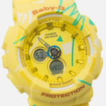 Женские наручные часы CASIO Baby-G BA-120SC-9A Graffiti Pattern Yellow фото- 2