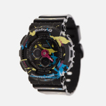 Женские наручные часы CASIO Baby-G BA-120SPL-1A Splatter Pattern Street Art Pack Black фото- 1