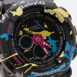 Женские наручные часы CASIO Baby-G BA-120SPL-1A Splatter Pattern Street Art Pack Black фото- 2