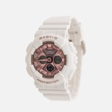 Женские наручные часы CASIO Baby-G BA-130-7A1ER White/Rose Gold фото- 1