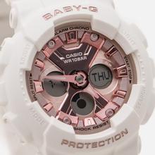 Женские наручные часы CASIO Baby-G BA-130-7A1ER White/Rose Gold фото- 2