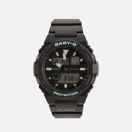 Женские наручные часы CASIO Baby-G BAX-100-1AER Navy/Mint