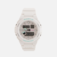 Женские наручные часы CASIO Baby-G BAX-100-7AER White/Mint фото- 0
