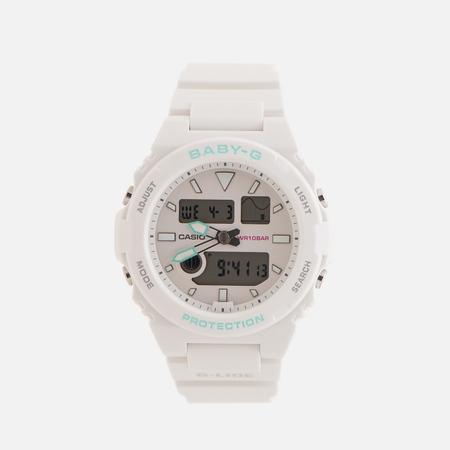 Женские наручные часы CASIO Baby-G BAX-100-7AER White/Mint